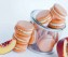 Gold-Dusted Macarons with Champagne and Peach Buttercreme with video tutorial