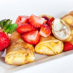Nalesniki: Cheese-Filled Crepes with video tutorial