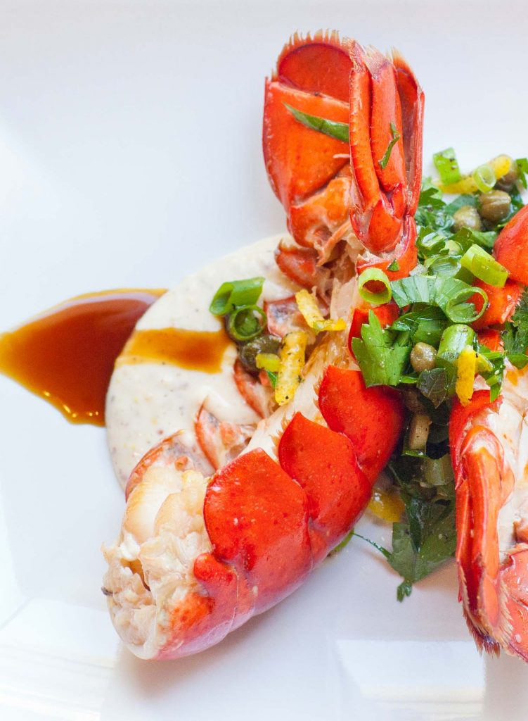 Buttered Lobster Tails with Aioli and Gremolata - Tatyanas Everyday Food