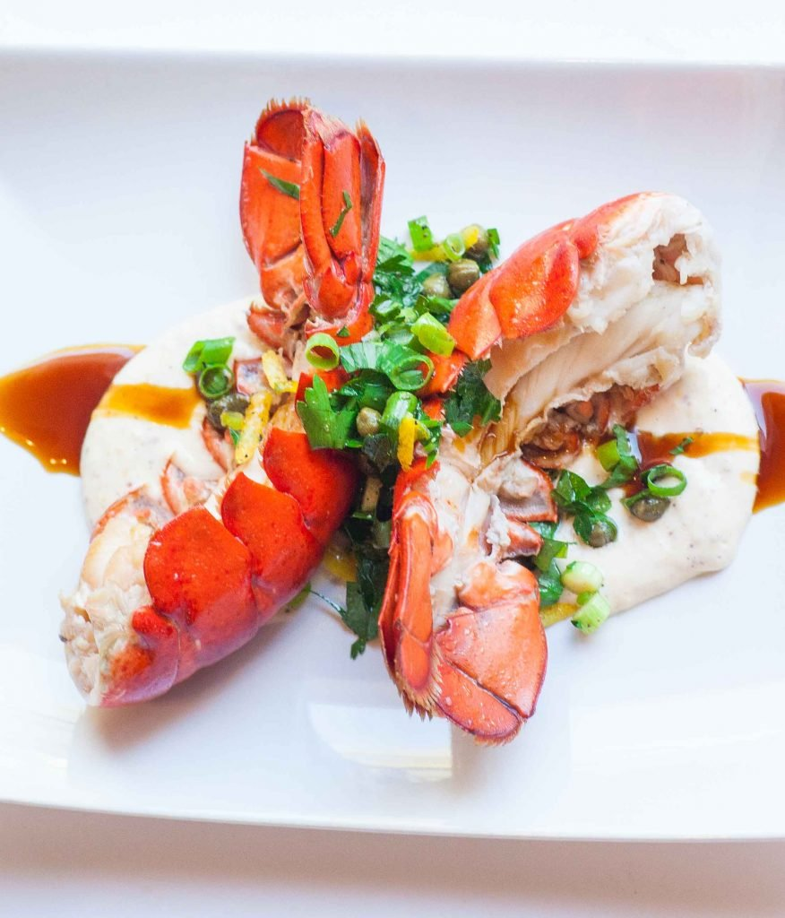 Buttered Lobster Tails with Aioli and Gremolata - Tatyanas ...