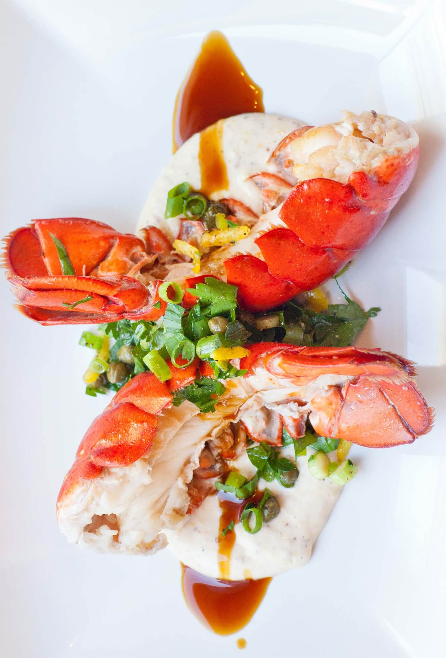 Buttered Lobster Tails With Aioli And Gremolata Tatyanas
