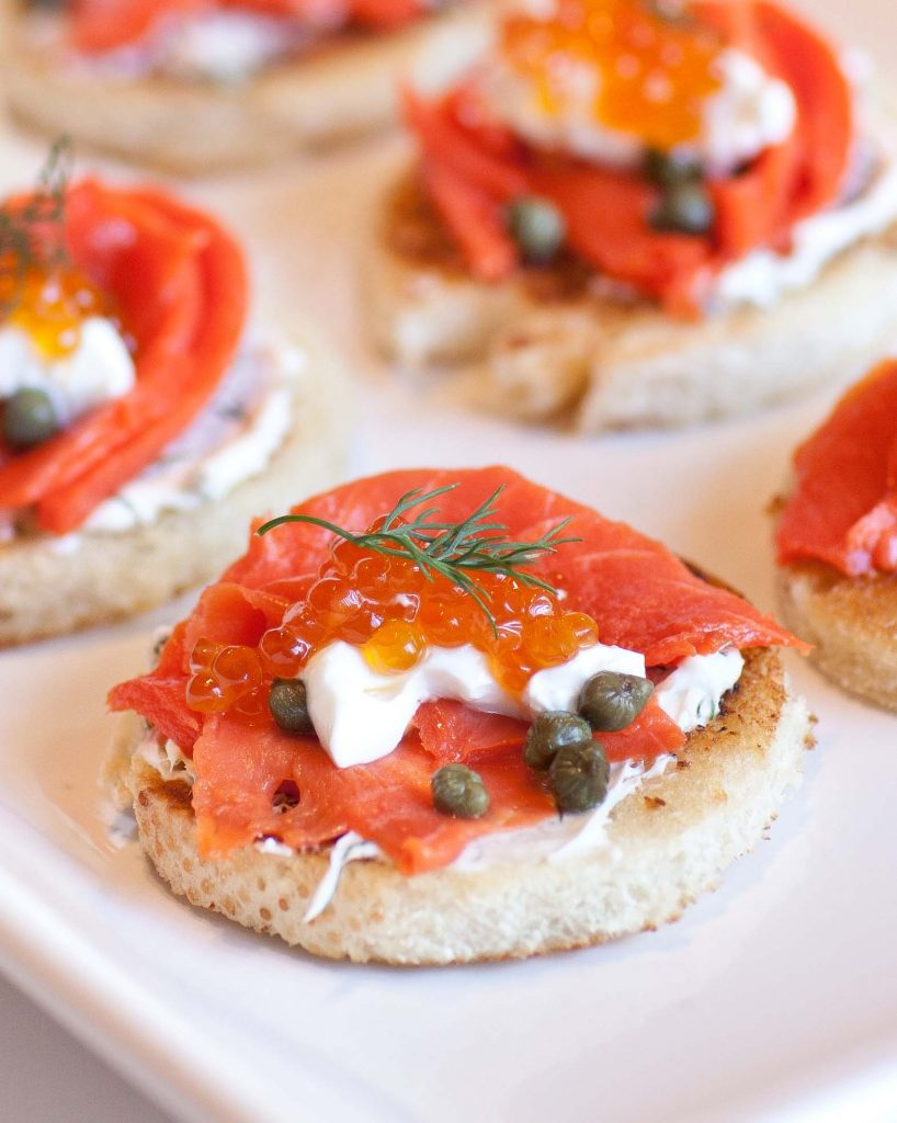Top 20 easy appetizer recipes tatyanas everyday food for Canape with caviar