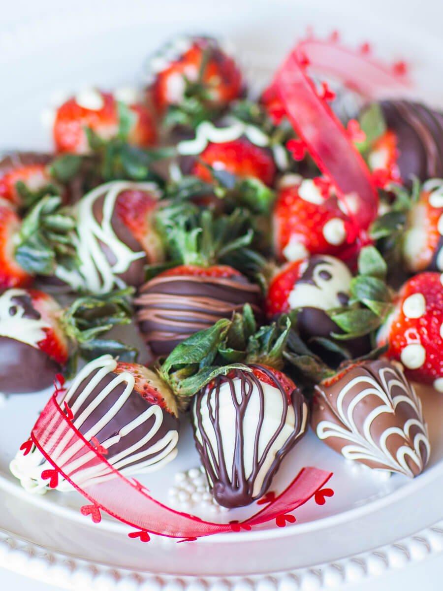 Chocolate Strawberries Video Tutorial Tatyanas Everyday Food