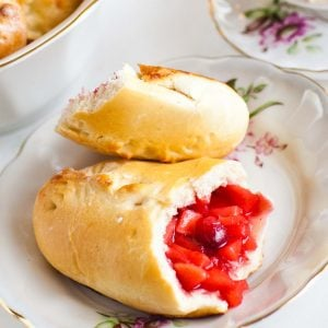 cranberry apple piroshki