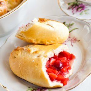 cranberry apple piroshki