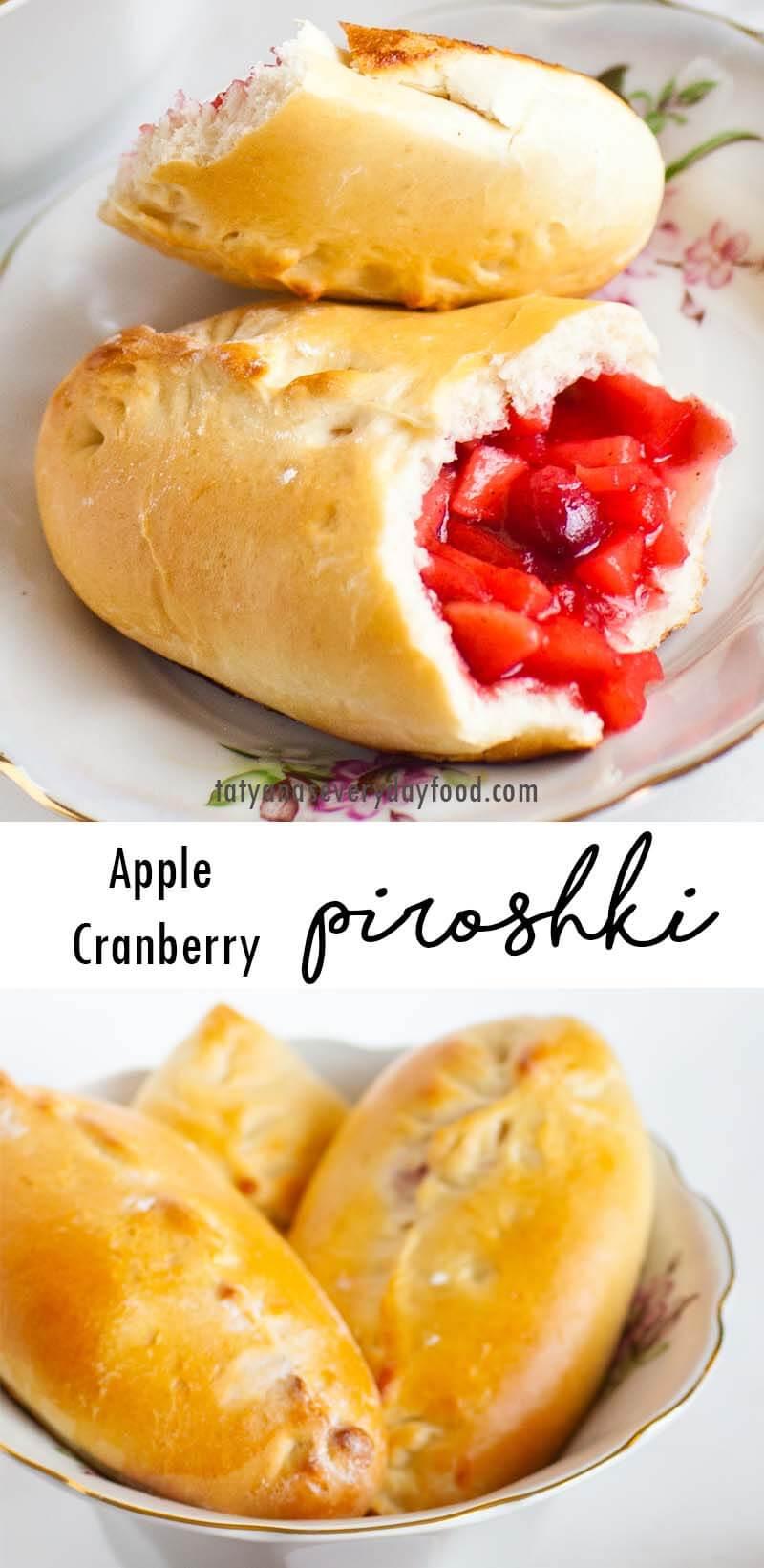 Cranberry Apple Piroshki video recipe