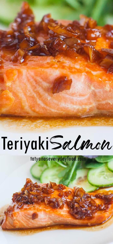 Easy Teriyaki Salmon video recipe