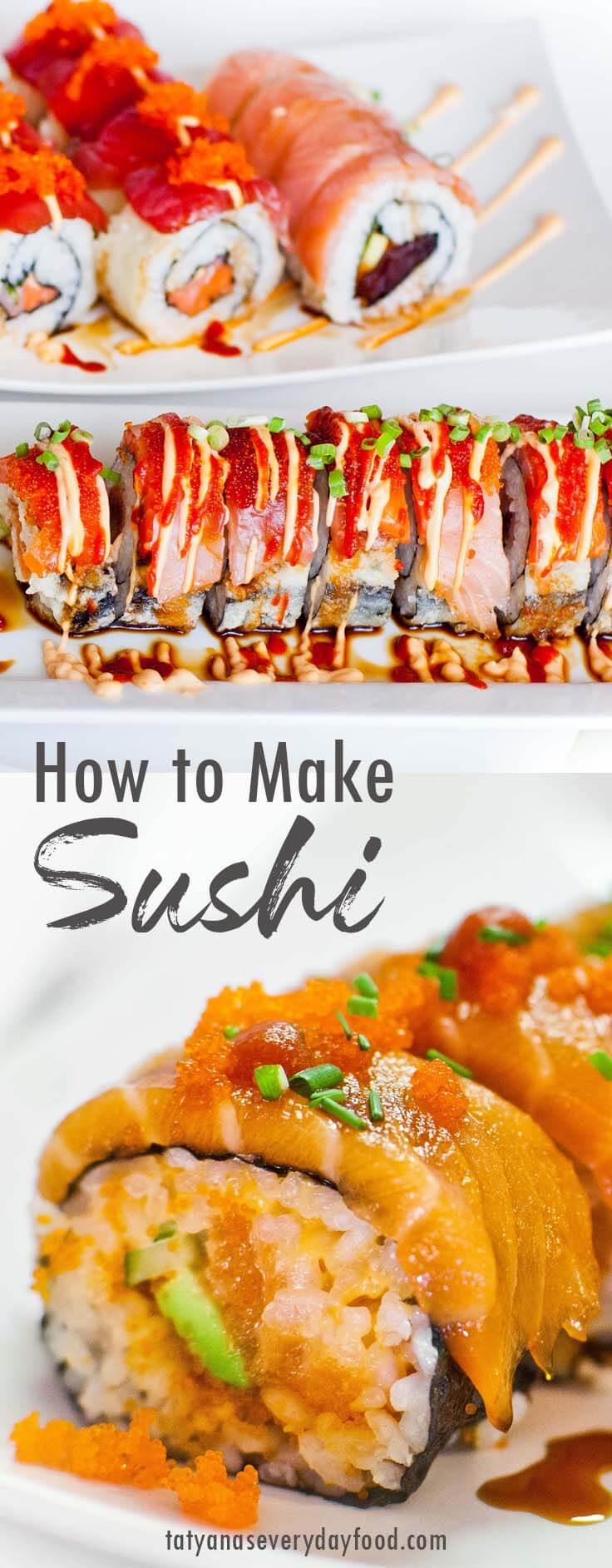 How To Make Sushi video recipe