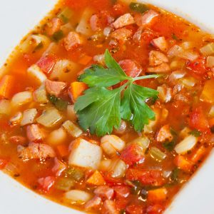 tomato minestrone soup