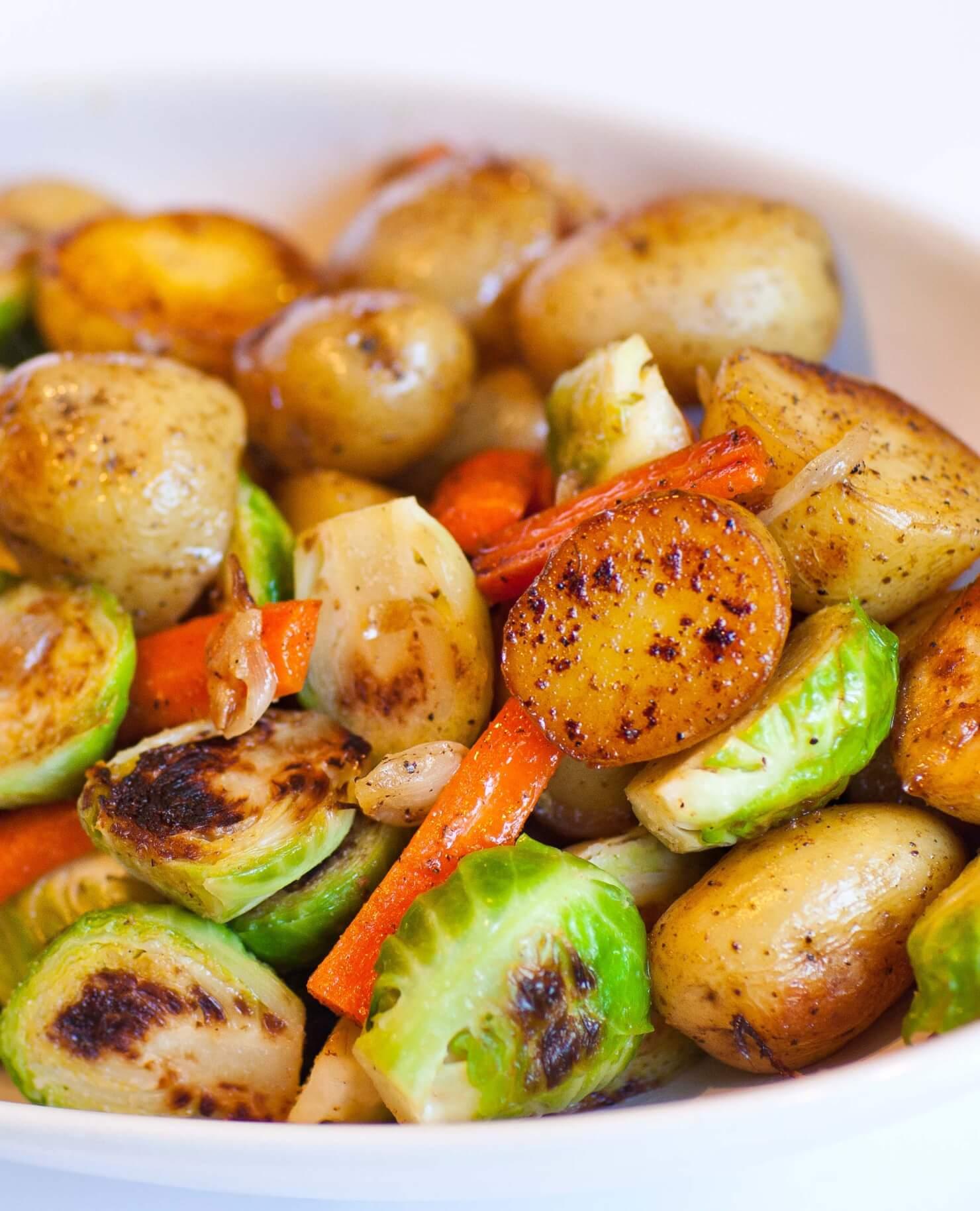 Pan-Seared Vegetables