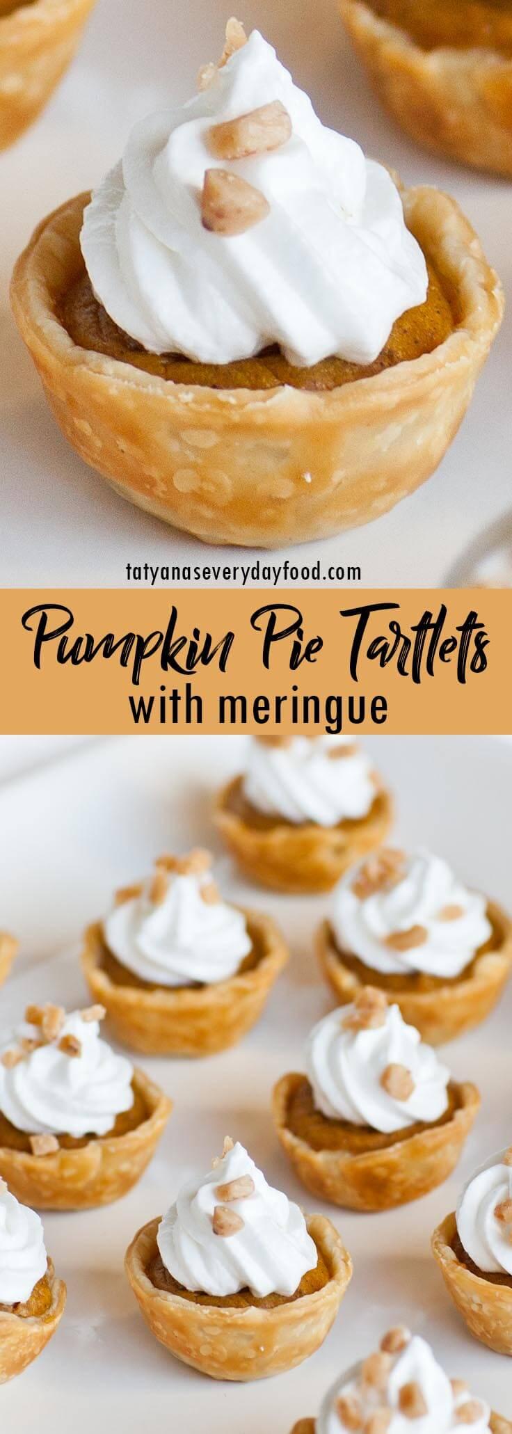 Pumpkin Pie Tartlets video recipe