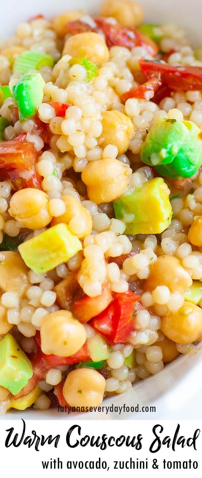 Warm Couscous Salad recipe