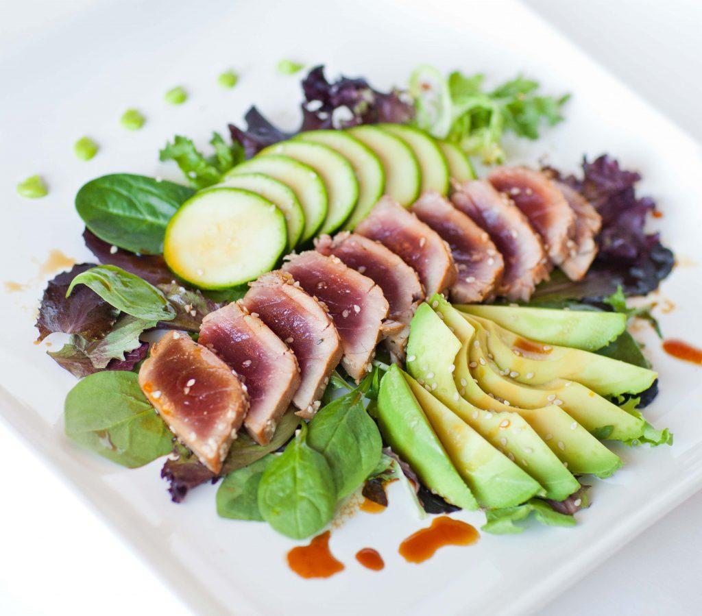 recipe: pan seared tuna with wasabi sauce [34]