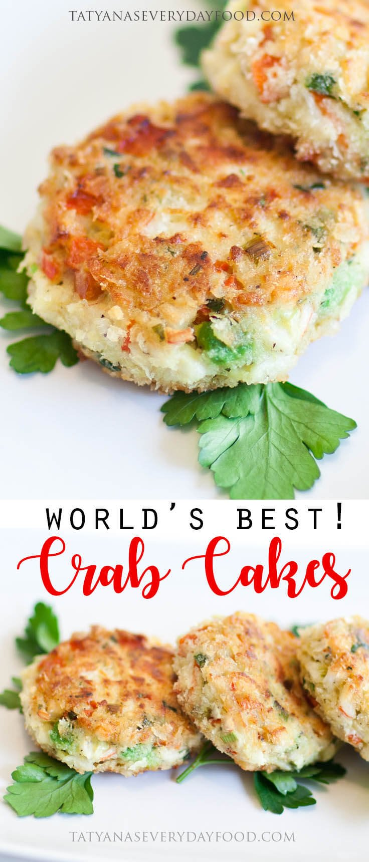 Crab And Corn Cakes With Lime Sour Cream