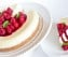 Classic Cheesecake with Raspberry Coulee