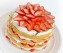Strawberries and Cream Cake with Cream Cheese Frosting with video tutorial