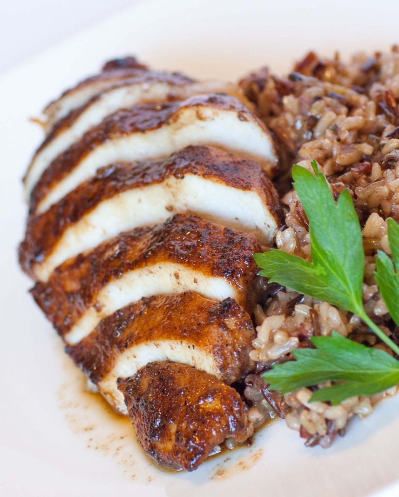 Chinese 5 spice chicken with wild rice tatyanas everyday food and this recipe yields a very juicy and tender chicken every time watch my video recipe for all the details forumfinder Choice Image