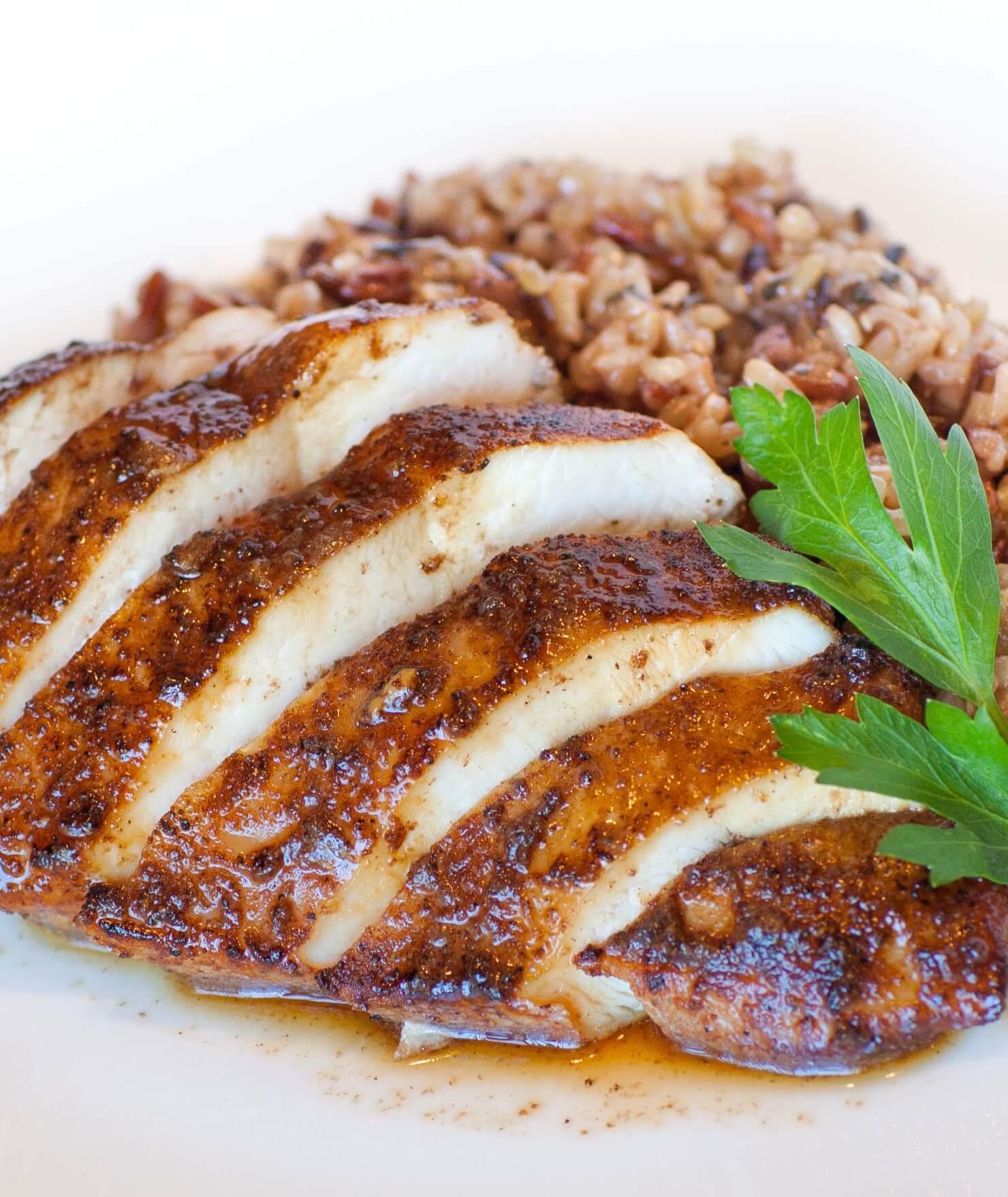 Chinese 5-Spice Chicken with Wild Rice