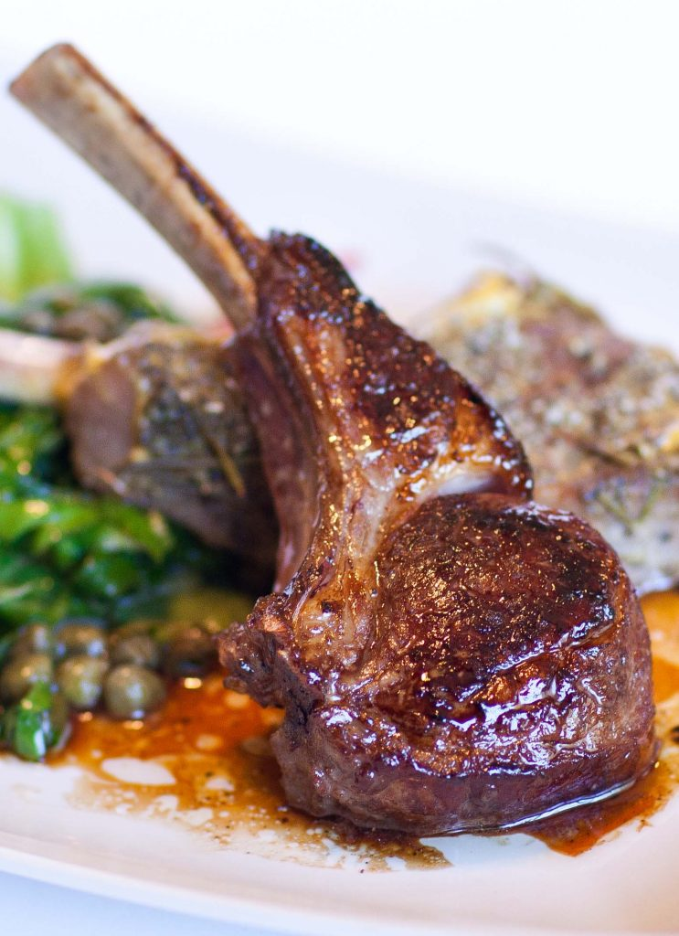 These Lamb Chops Are Very Easy To Make And Go Well With A Salad Or Crushed  Baby Potatoes, Roasted In The Oven To Perfection!