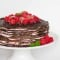 Chocolate Crepe Cake with video tutorial
