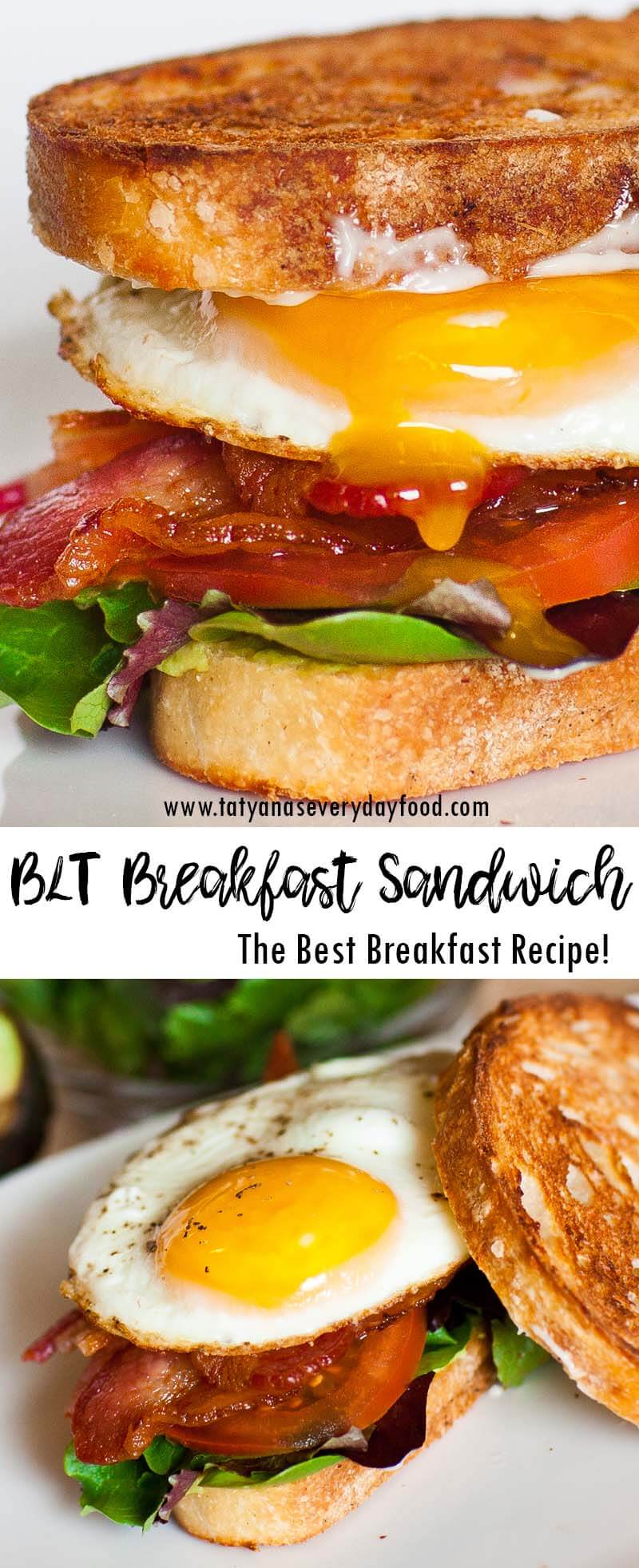 BLT Breakfast Sandwich video recipe