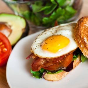 BLT Breakfast Sandwich - Video tutorial - Tatyana's Everyday Food