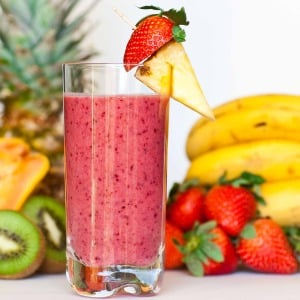 Tropical Fruit Smoothie Video Recipe - Tatyana's Everyday Food