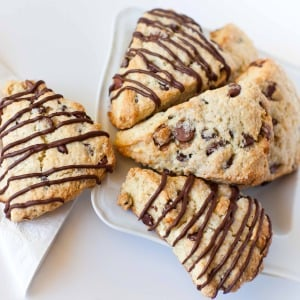 Triple Chocolate Scones Tatyanas Everyday Food
