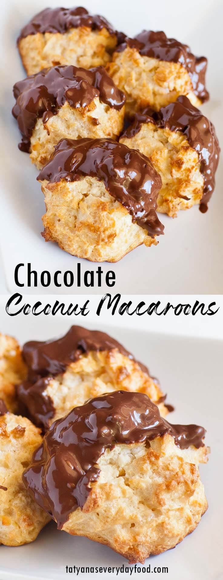Chocolate Coconut Macaroons video recipe
