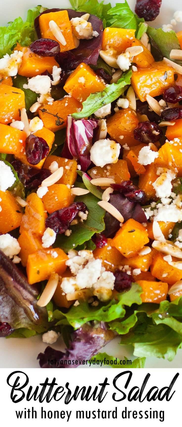 Oven-Roasted Butternut Squash Salad video recipe
