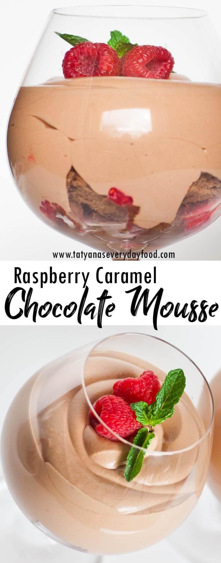 Raspberry Chocolate Mousse Parfaits video recipe