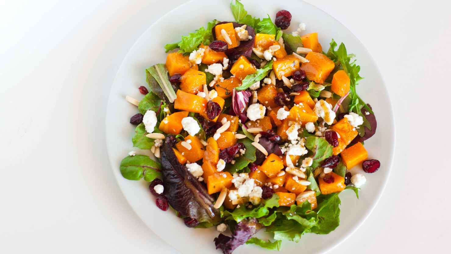 Oven-Roasted Butternut Squash Salad - Video Recipe