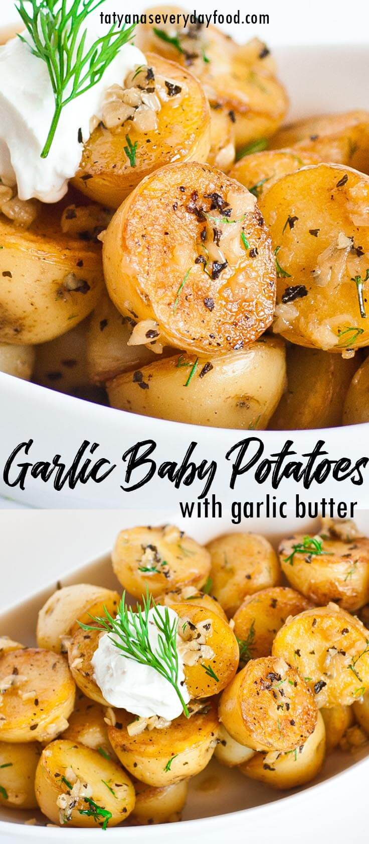Garlic Baby Potatoes video recipe