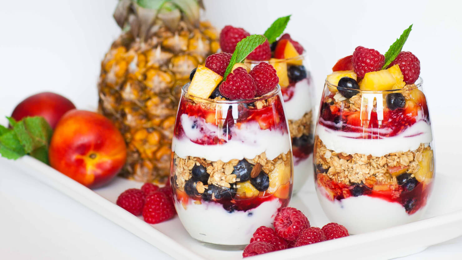 Granola and Fruit Parfait - Tatyanas Everyday Food