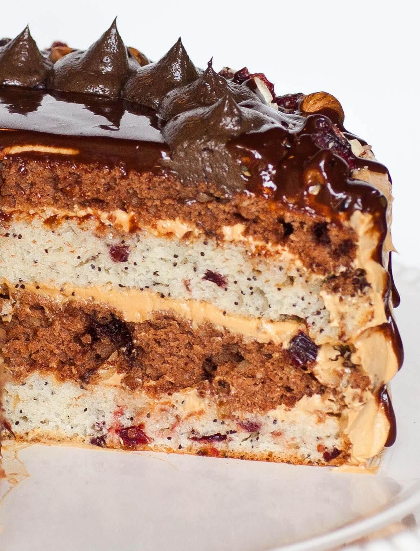 korolevski torte slice