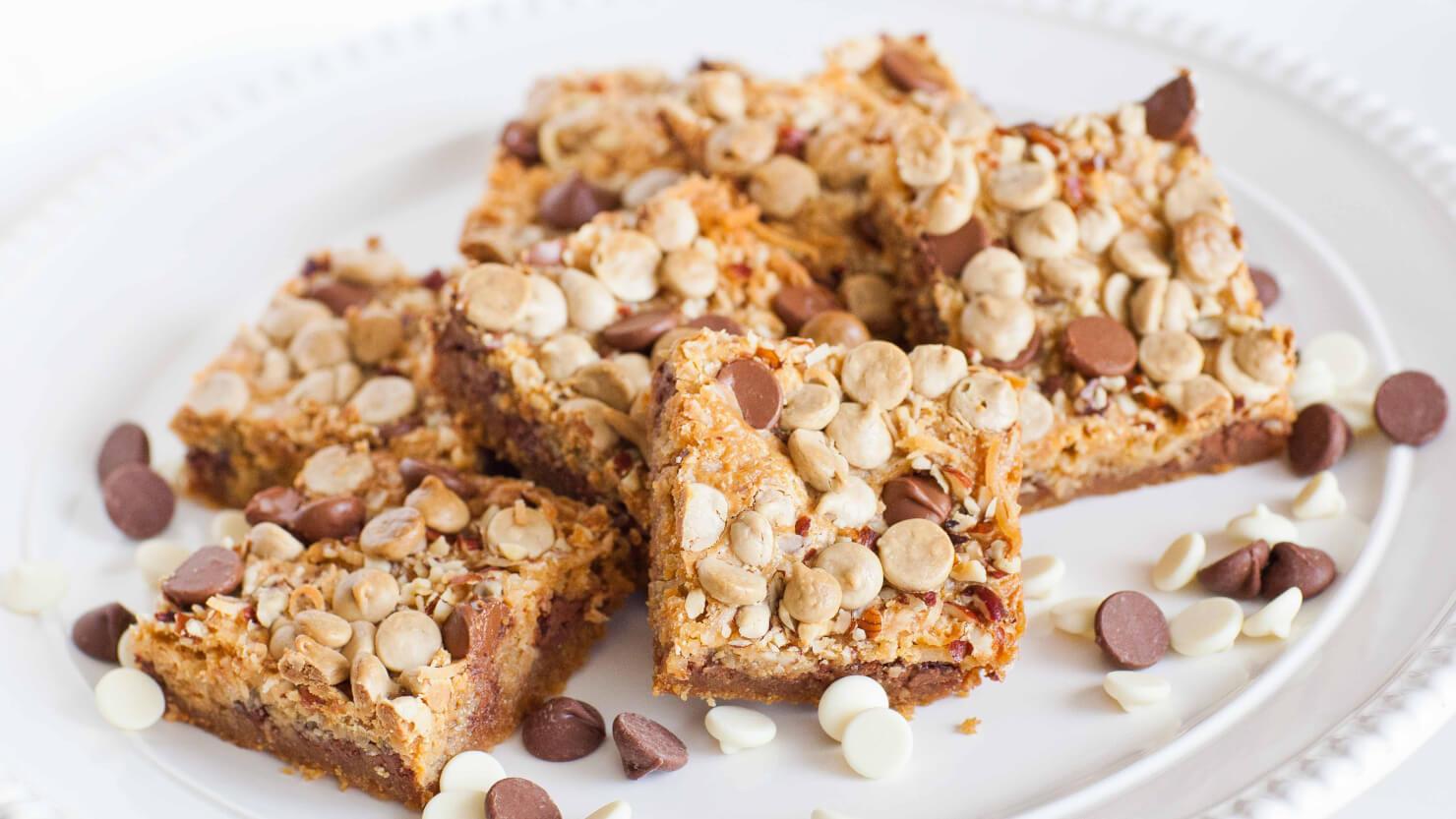 Chocolate Coconut Cookie Bars video recipe