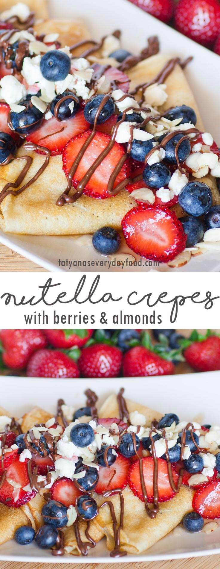 Berry Nutella Crepes recipe video recipe