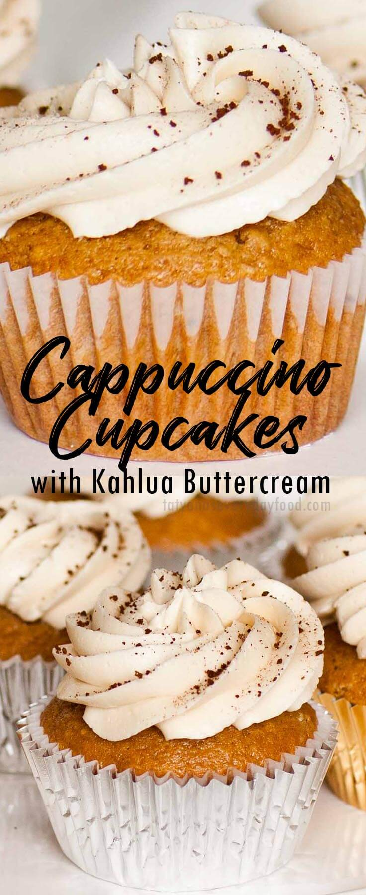 Cappuccino Cupcakes video recipe
