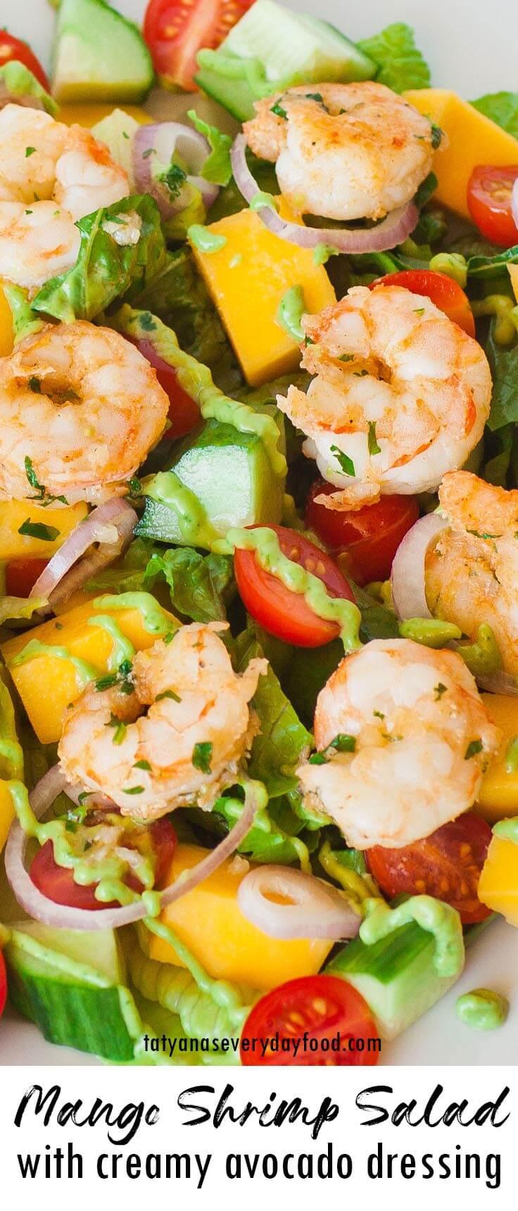 Mango Shrimp Salad video recipe