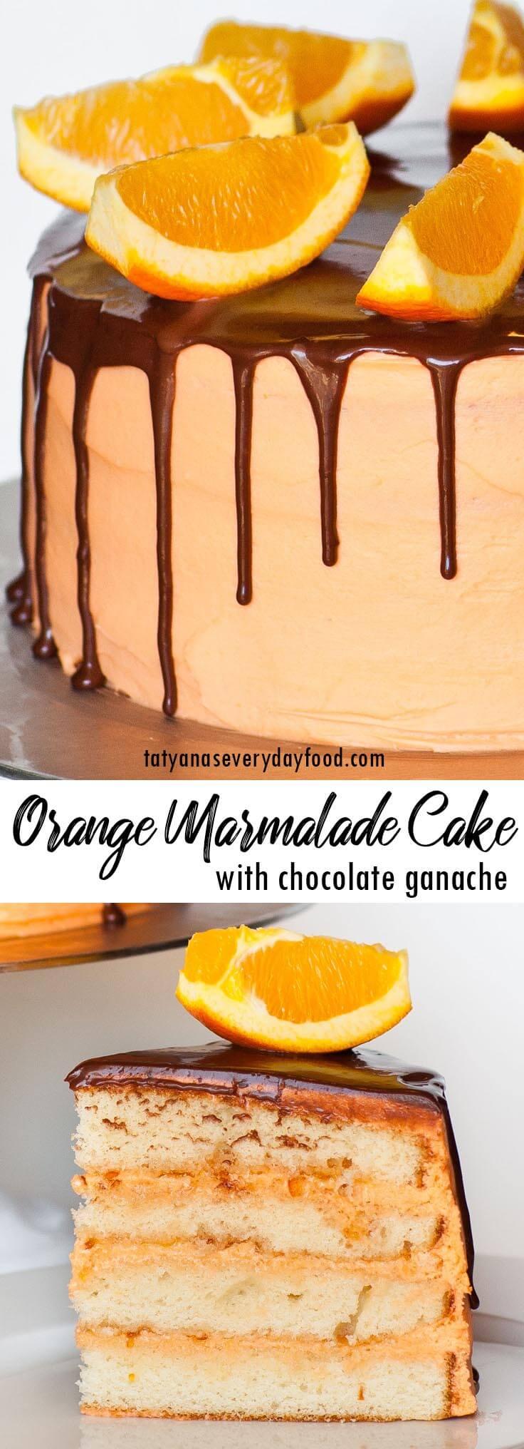 Orange Marmalade Cake video recipe