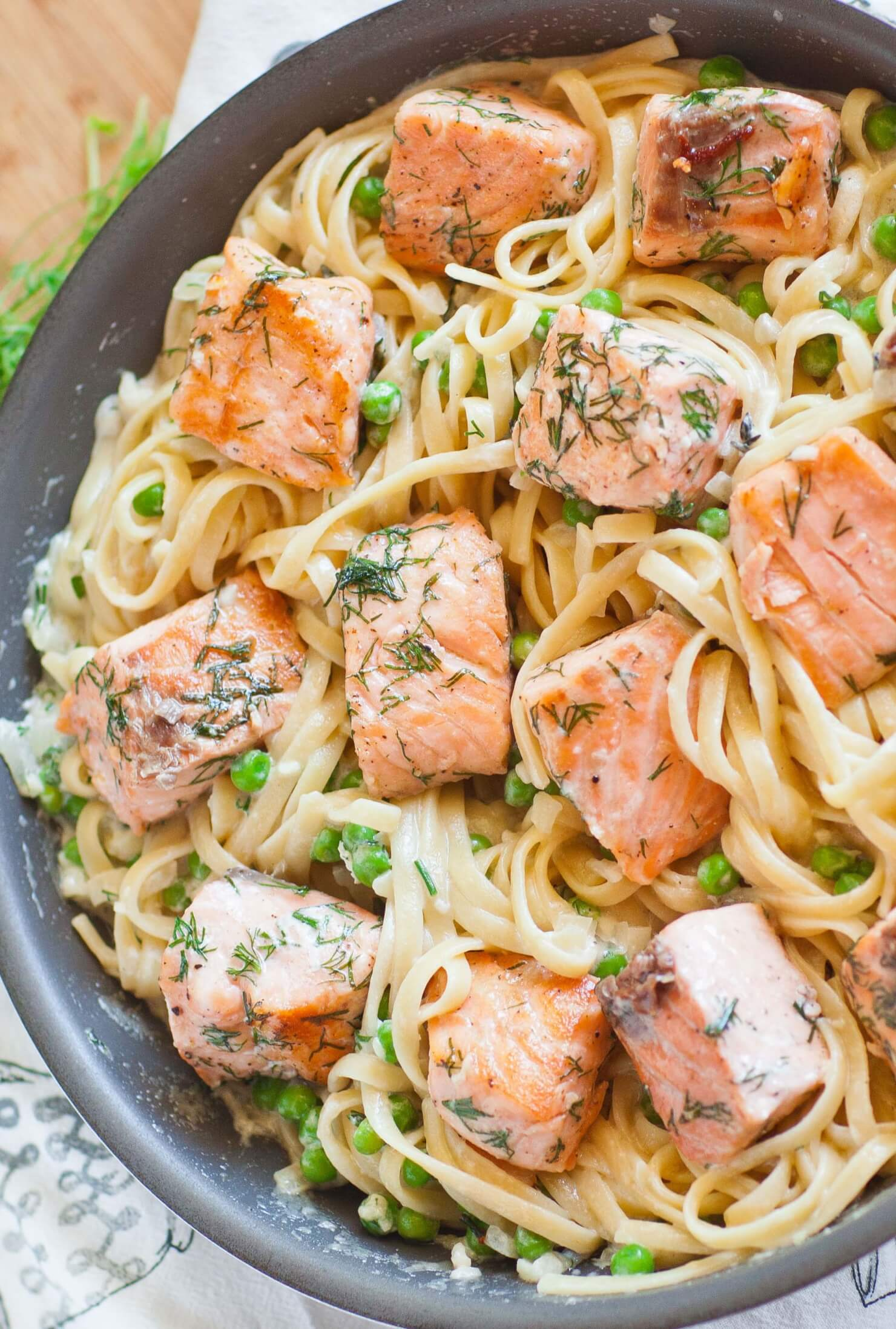 salmon fettuccine tatyanas everyday food
