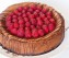 Caramel Raspberry Chocolate Cheesecake