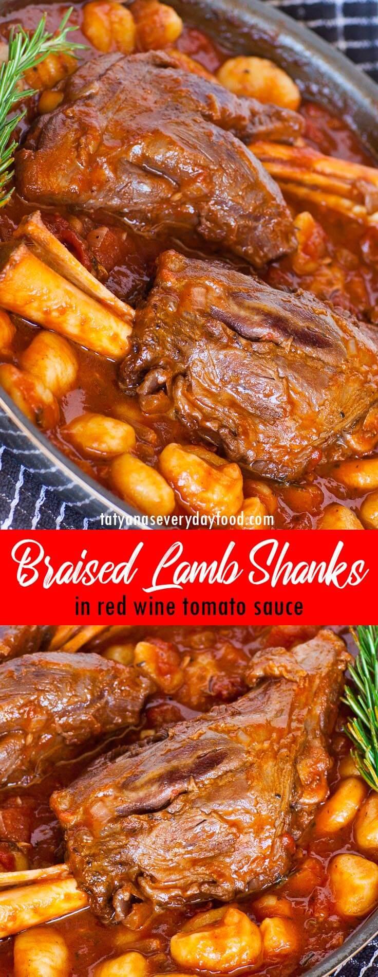 Easy Braised Lamb Shanks video recipe