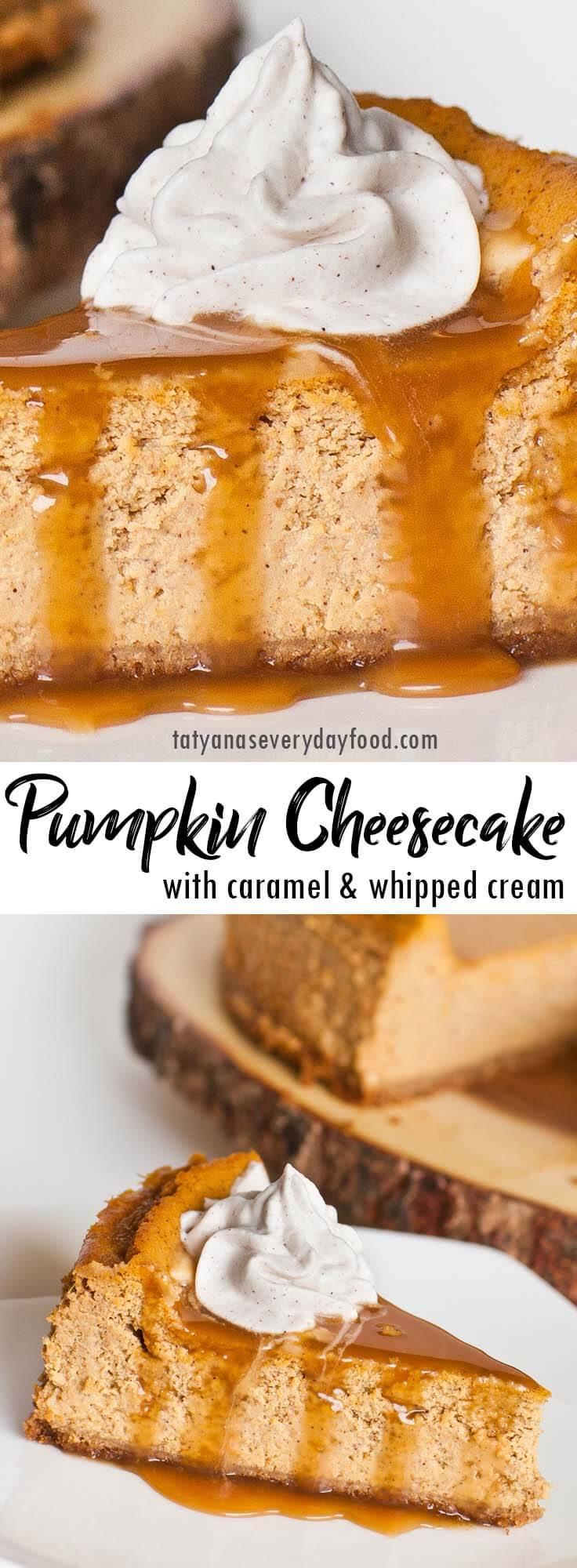 Easy Pumpkin Cheesecake video recipe