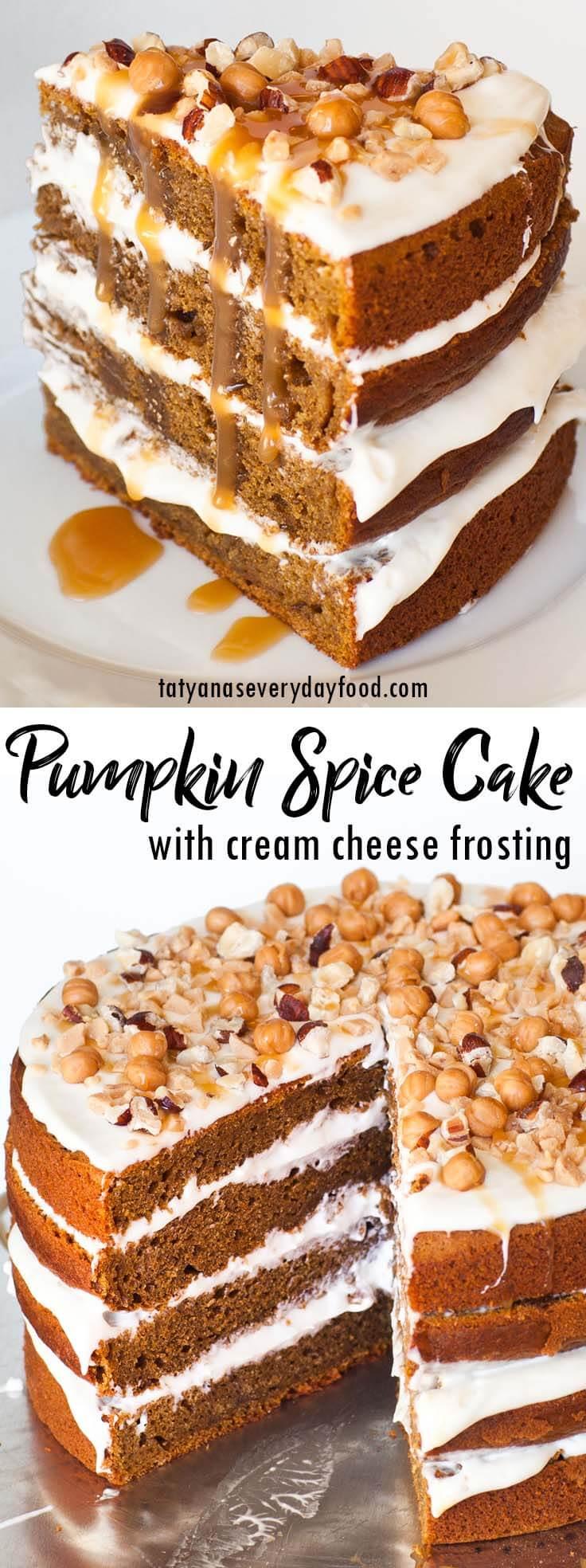 Easy Pumpkin Spice Cake video recipe