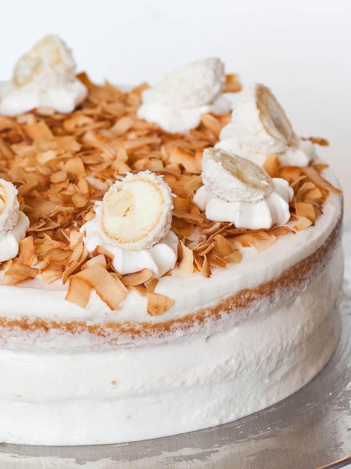 Coconut Raffaello Cake Tatyanas Everyday Food