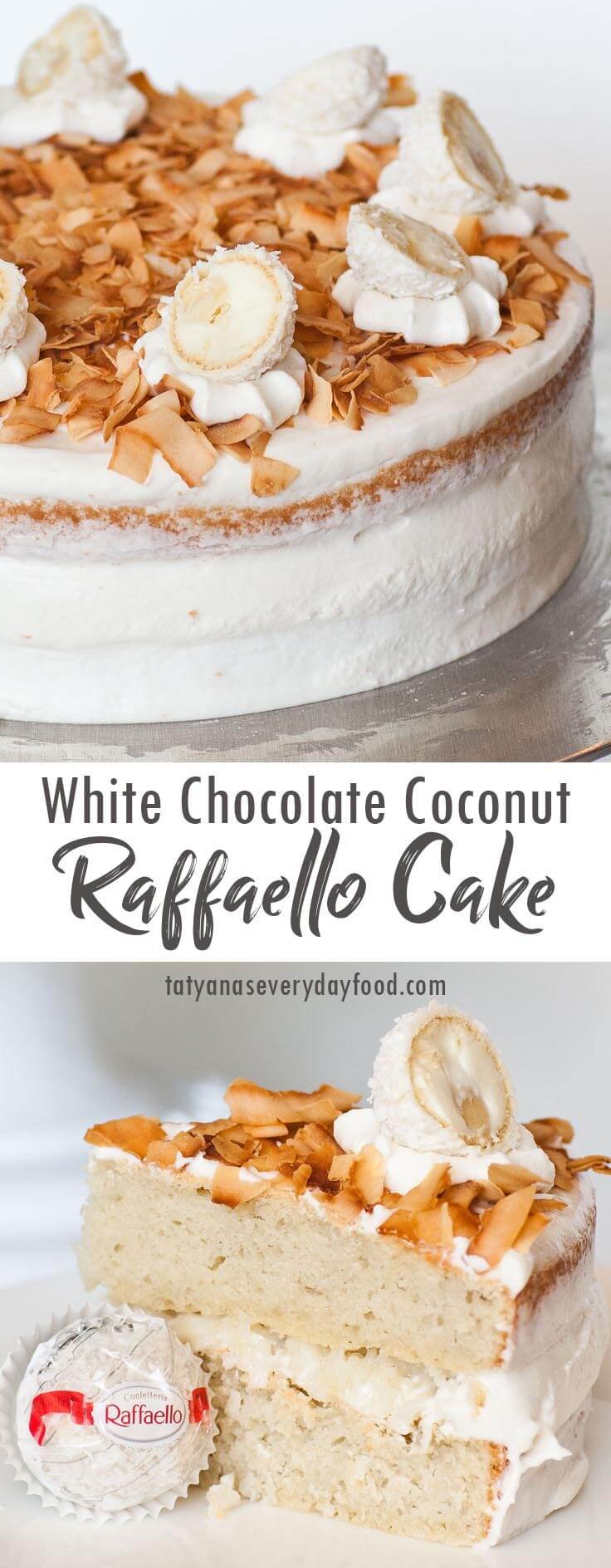 Rafaello Coconut Cake video recipe