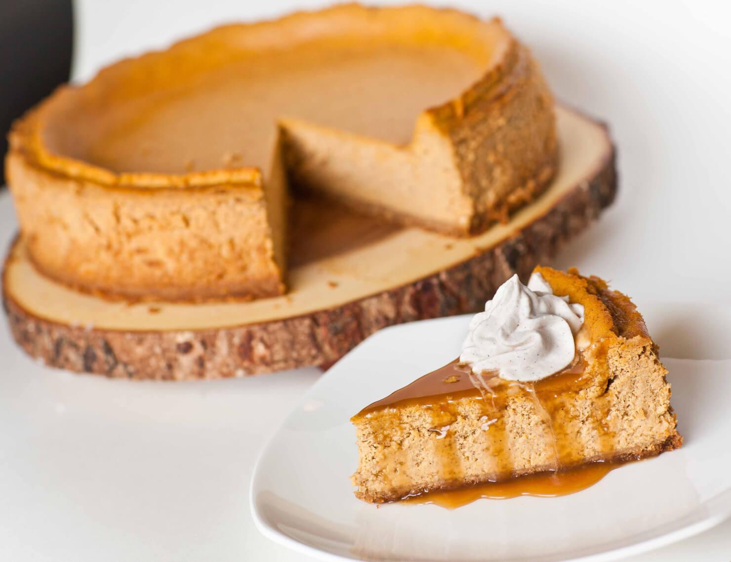 Pumpkin Cheesecake - Tatyanas Everyday Food