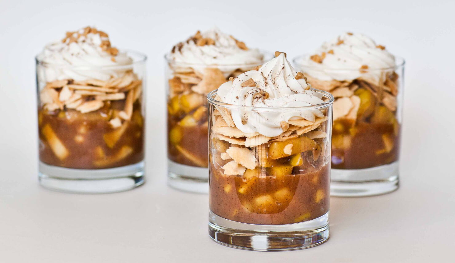 Apple pie dessert cups tatyanas everyday food for What to make with apples for dessert