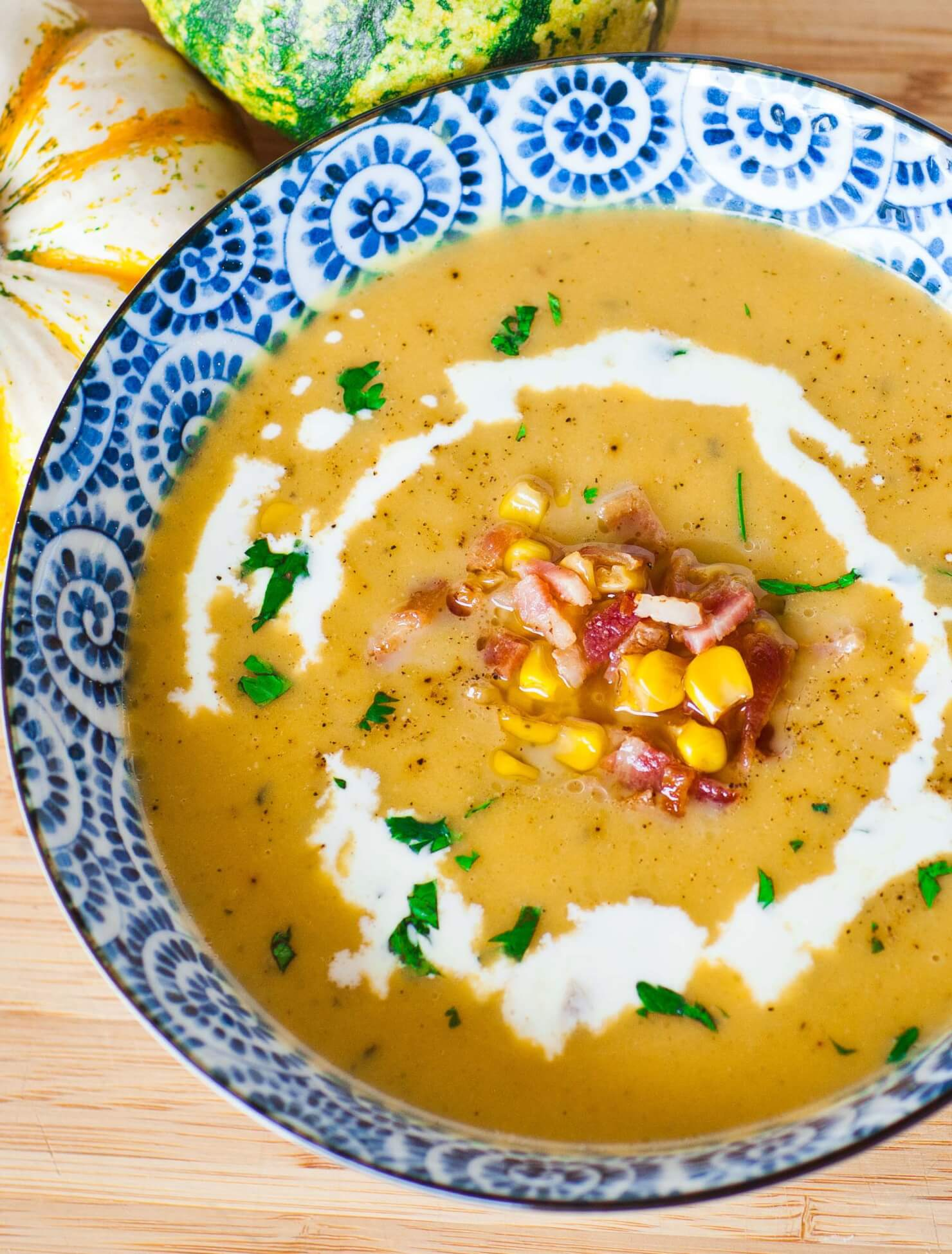 Bacon Butternut Bisque